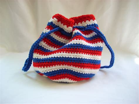 crochet pattern small drawstring bag usa drawstring bag small crochet purse woman s handbag