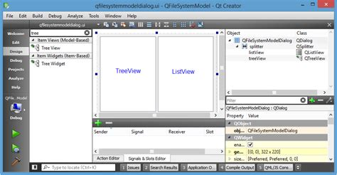 layout qt designer tutorial qt5 tutorial modelview with qtreeview and qfilesystemmodel