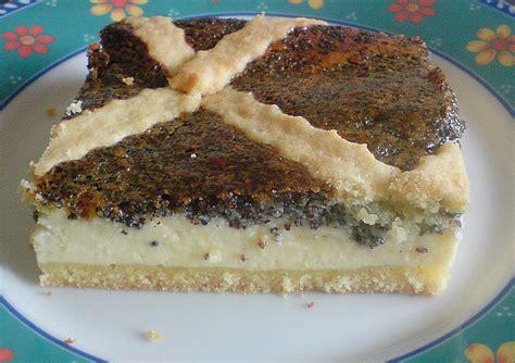 kuchen mit mohn mohn quark kuchen rezept mit bild bloody