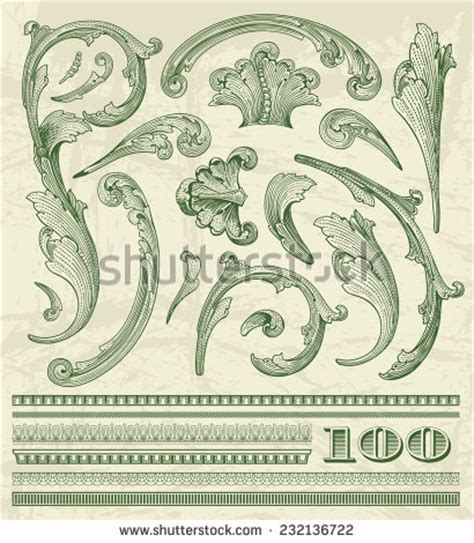 money dollars and design elements vector dollar stock images royalty free images vectors