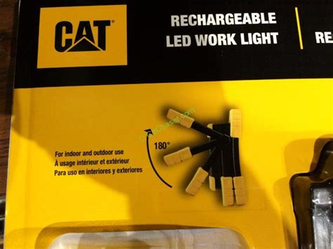 cat rechargeable led work light costco costco 962841 cat led worklight rechargeable part