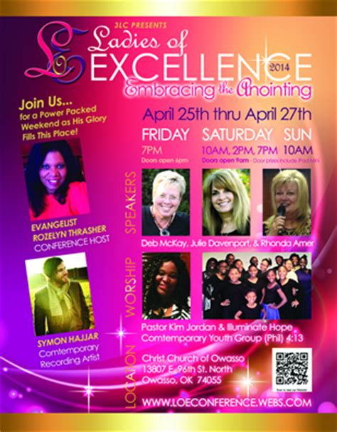 decorating ideas for women s conference christian flyer design christian church event conference