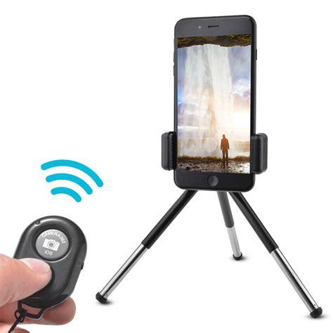 Dexim Clickstik Bt Remote Stand Holder Mini Tripod Baru mini tripod stand holder bluetooth shutter remote for iphone 7 plus lf780 ebay