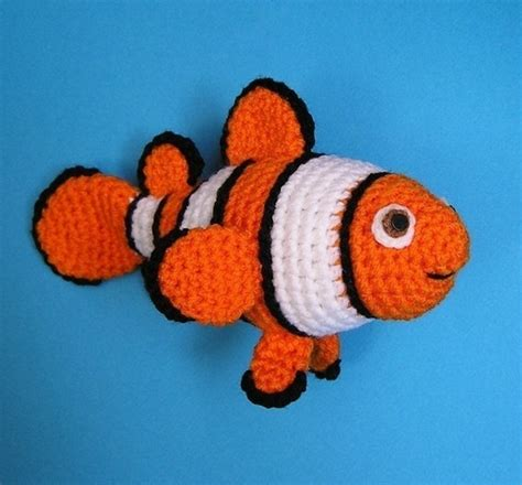amigurumi nemo pattern clown fish pdf crochet pattern nemo amigurumi fish