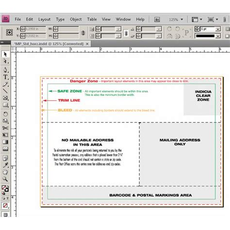 use an indesign postcard template where to find the best