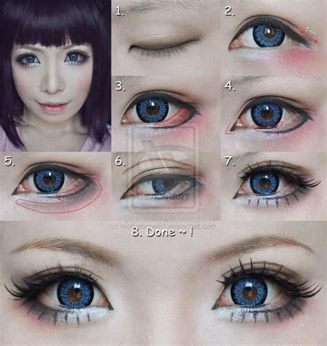 tutorial makeup doll eyes fotos de moda maquillaje para tener ojos m 225 s grandes