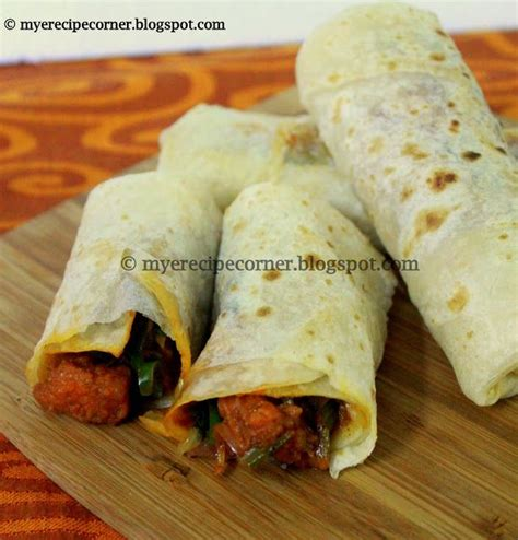 paneer kathi roll recipe vegetarian 1000 images about lunch box ideas on