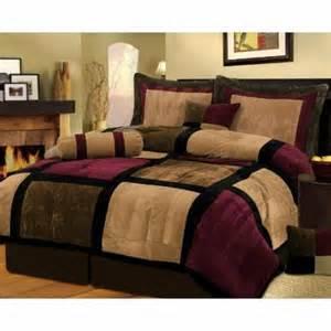 Maroon Bedding Sets Le Couvre Lit Patchwork Est Une Jolie Finition Pour Votre