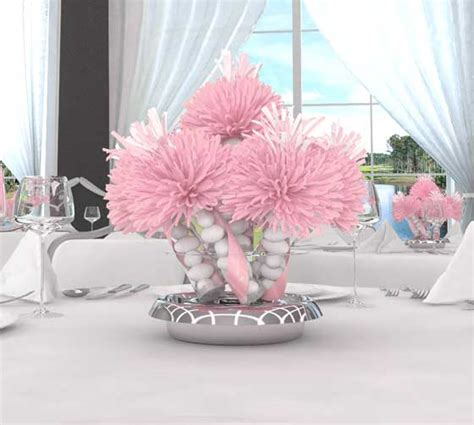 baby shower ideas centerpiece wanderfuls bridal shower centerpieces