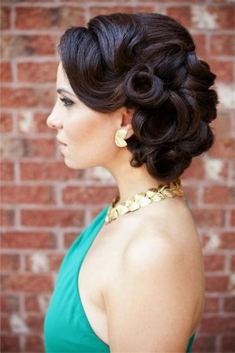 Images Of Vintage Wedding Hairstyles by Vintage Hairstyles For Hair For Prom Www Pixshark