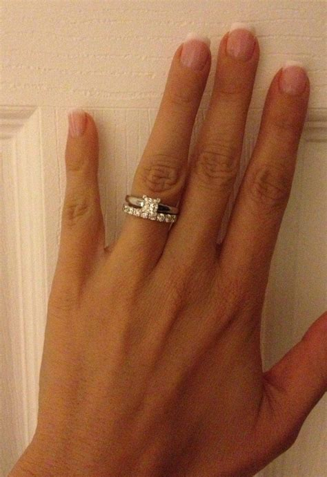 Wedding Bands With Princess Cut Diamonds by 15 Photo Of Wedding Band To Go With Princess Cut