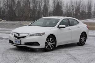 2015 acura tlx white car interior design