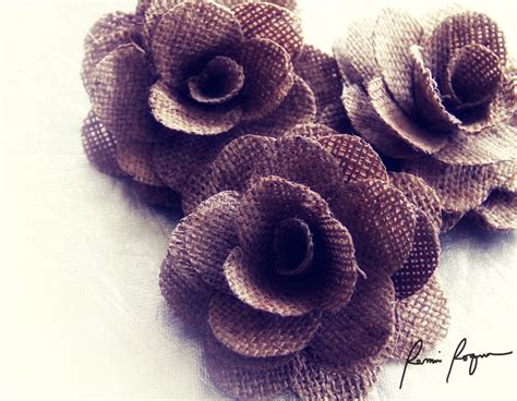 wholesale burlap flowers for weddings and craft projects