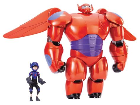 big 6 figure bighero6 flying baymax with hiro figure review