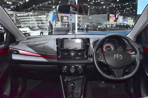 Dashboard Toyota Vios New 2017 toyota yaris sedan vios dashboard showcased at bims