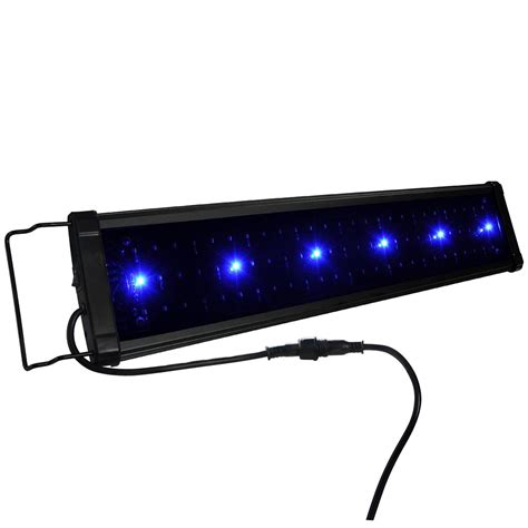 36 aquarium light 24 quot 36 quot 48 quot multi color led aquarium light 0 5w spec