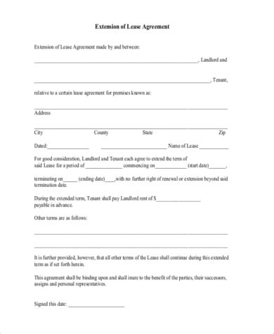rental agreement letters 8 free documents in word pdf