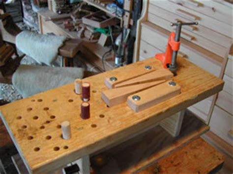 bench dog spacing blog woods detail woodworking wedge cl