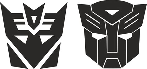 transformers stickers decals  vector cdr