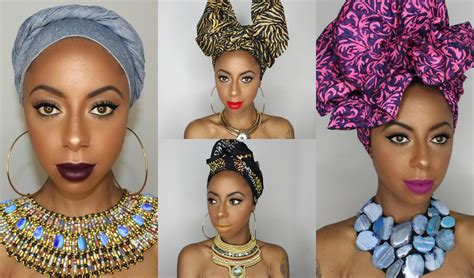 new styles guide to tying nigerian traditional head tie 4 different ways to tie a headwrap turban jessica