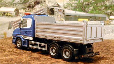 scania 164 dump truck