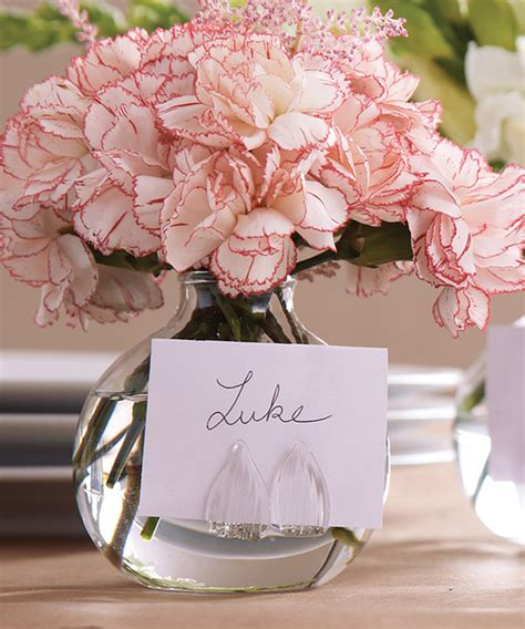 Bud Vase Place Card Holders by Be Seated Set Of 4 Bud Vases Place Card Holders In Gift Box Transitional Place Card Holders