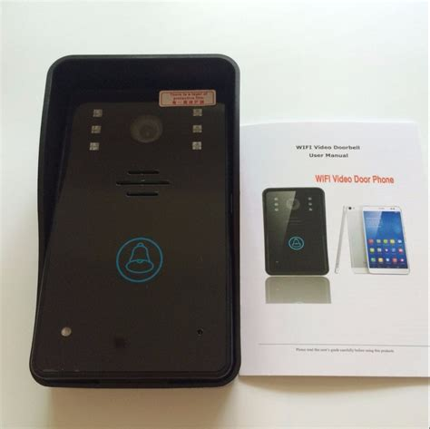 ennio touch key wireless door phone wifi doorbell