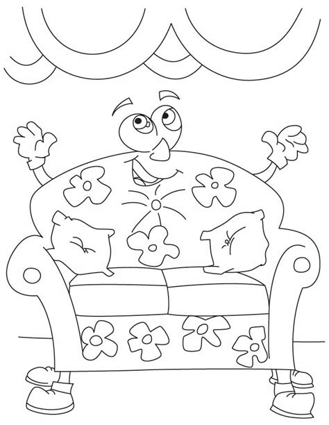 comfy couch cartoon big comfy couch coloring pages coloring home