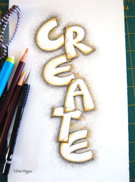 art journal hand lettering ideastutorials  pinterest