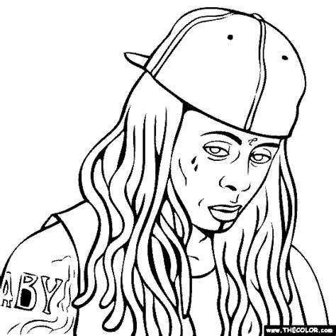 rapper coloring pages hip hop rap star online coloring pages page 1