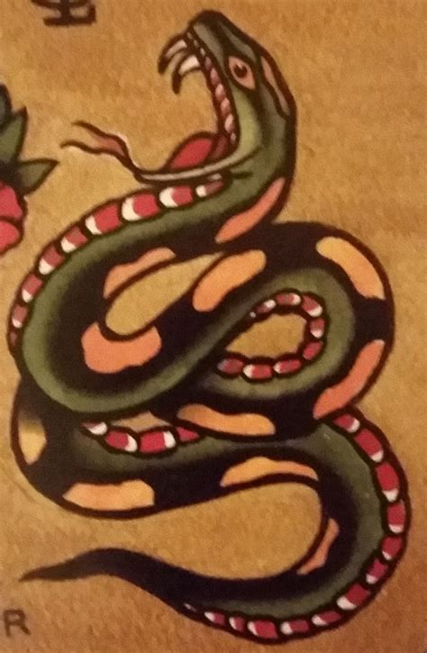 traditional snake tattoo traditional school jeromey quot tilt quot mcculloch