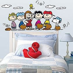 snoopy bedroom peanuts wall art my baby girl pinterest