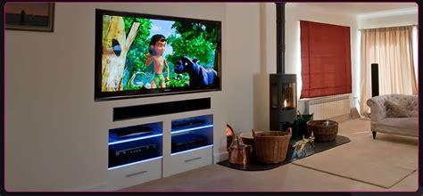 TV in chimney breast   Handyman job in Radlett