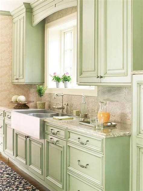 Seafoam Green Kitchen by Seafoam Green Kitchen Marble Counters And Backsplash