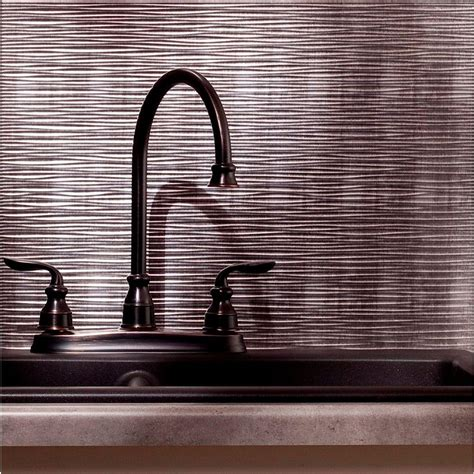 Fasade 24 In X 18 In Ripple Pvc Decorative Backsplash Pvc Backsplash Panel