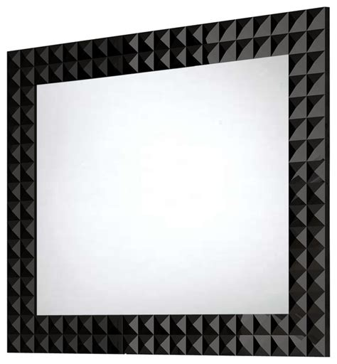 diamond wall framed mirror 31 5 inches contemporary