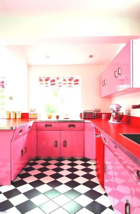 pink kitchens best 25 pink kitchens ideas on pinterest pink kitchen
