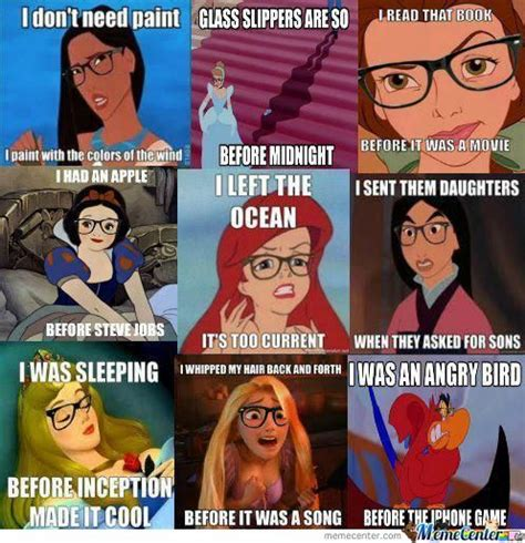 Hipster Disney Meme - hipster disney by starburst0 meme center