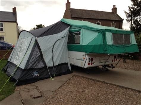 motorhome awning fitting pennine folding cer porch awning only to fit pennine
