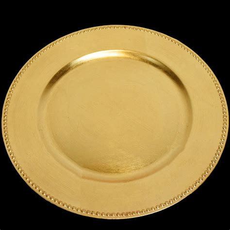 gold beaded charger plates beaded charger plates in gold and silver for wedding