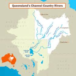 australia river map the river seers hydrologic oddities where two rivers become a creek