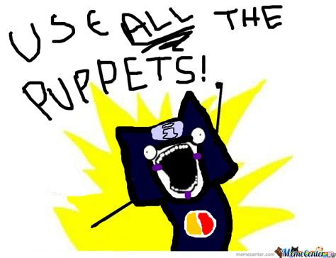 Use All The Memes - kankuro use all the puppets by terezipyrope440368 meme