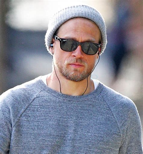 charlie hunnam charlie hunnam went hiking and doesn t like dogs