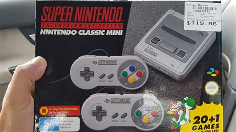 oops    harvey norman  selling  snes mini