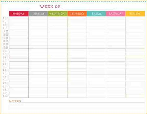 template weekly schedule 6 weekly schedule academic resume template