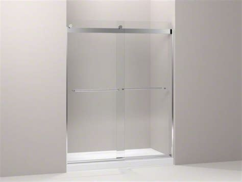 Kohler Glass Shower Doors Kohler Levity R Front Sliding Glass Panel And Assembly Kit For Shower Door K 70 Contemporary