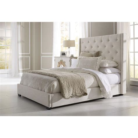 upholstered bed pulaski furniture all in 1 king upholstered bed 1927 br k2 the home depot
