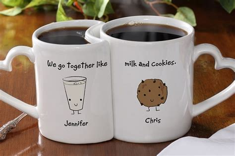 Cool Coffee Mugs For Guys by Personalized Romantic Mug Set Bonjourlife
