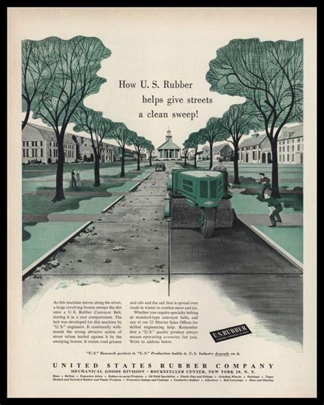 rubber st vintage 1953 u s rubber co vintage ad gaston sudaka