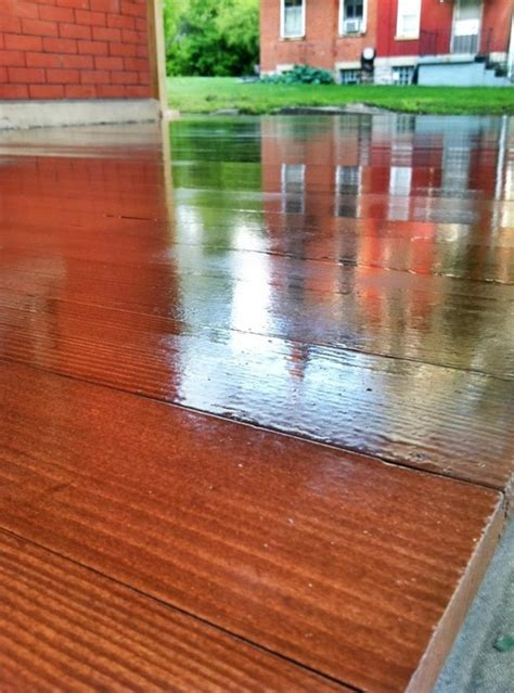 porch flooring replacement